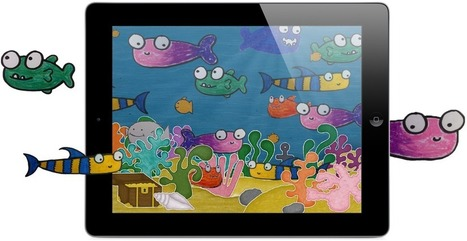 Squiggle Fish | Apps for Early Years | Scoop.it