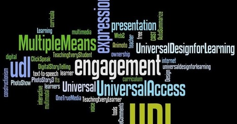 Universal Design for Learning / Assistive Technologies (Educational Technology and Design) | The 21st Century | Scoop.it