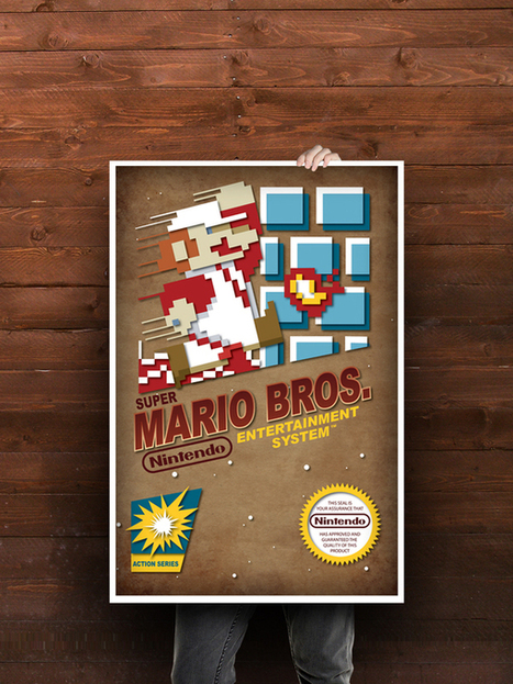 Don Carlos Salinas – NES Classic Game Posters | All Geeks | Scoop.it