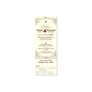 Plantable Wedding Invitations Seeded Paper In