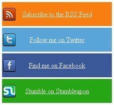 Multicolor Social Subscription Widget For Blogger And WordPress - Blogs Daddy | Blogger Tricks, Blog Templates, Widgets | Scoop.it