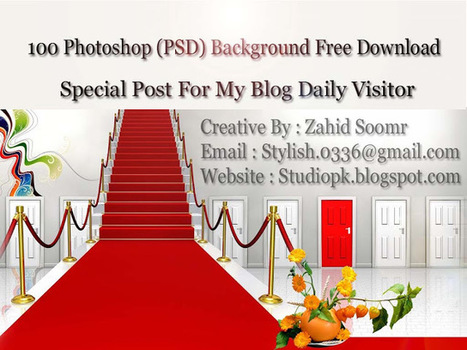 100 Photoshop Psd Background Free Download