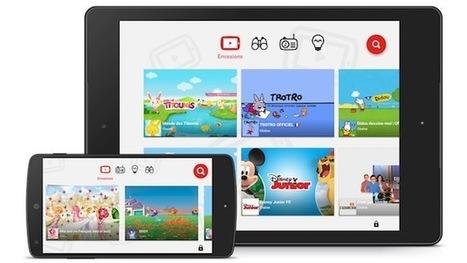 Google lance en France son YouTube pour les enfants | Applications Iphone, Ipad, Android et avec un zeste de news | Scoop.it