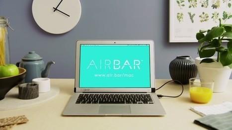 AirBar, para añadir función táctil a las pantallas de portátiles convencionales | Tria i remena recursos | Scoop.it