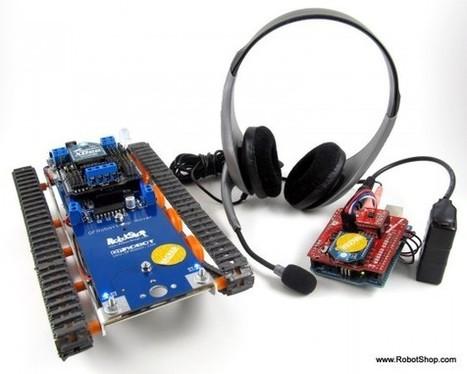 Speech-Controlled Arduino Robot | Robots and Robotics | Scoop.it