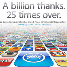 Apple's App Store Hits 25 Billion Downloads: How Many Per iPhone? | Mobile & Technology | Scoop.it