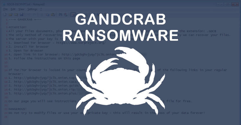 GandCrab Ransomware Distributed by Exploit Kits...
