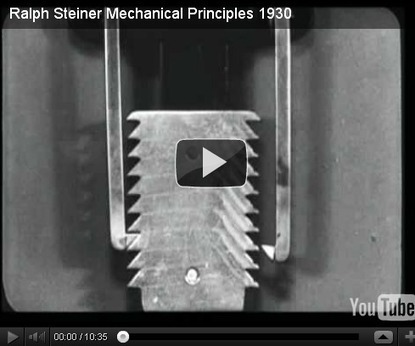 Ralph Steiner Mechanical Principles 1930 | offene Ablage: nothing to hide | oAnth-miscellaneous | Scoop.it