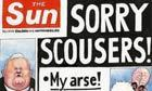 Steve Bell on Kelvin MacKenzie's apology for the Sun's Hillsborough front page - cartoon | YES for an Independent Scotland | Scoop.it