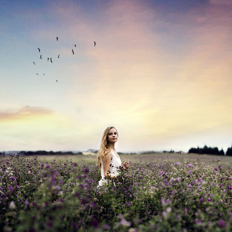 Creative self portrait photography by Sophia Alexis   The Blog's Revue by OlivierSC   Scoop.it