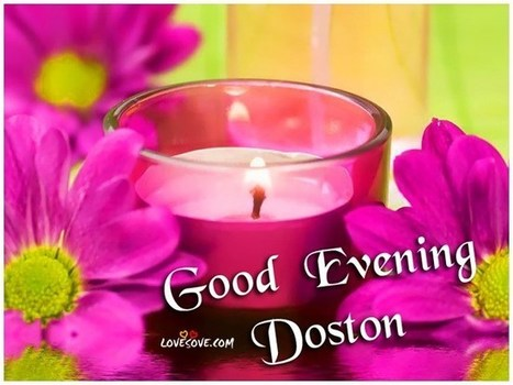 Good Evening Cards Pictures With Name Sms Am