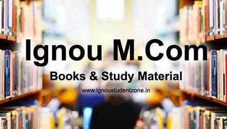 Ignou Bcom Books Pdf