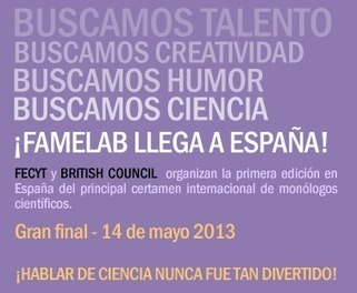Inicio | FameLab España | Live mathematics! | Scoop.it