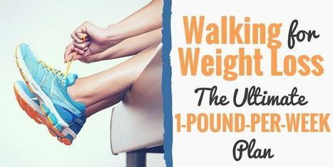 Walking for Weight Loss: The Ultimate 1-Pound-Per-Week Plan | One Step at a Time | Scoop.it