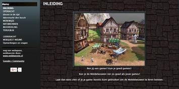 Webkwestie 'Middeleeuwen': Leer via twee games meer over de Middeleeuwen | Edu-Curator | Scoop.it