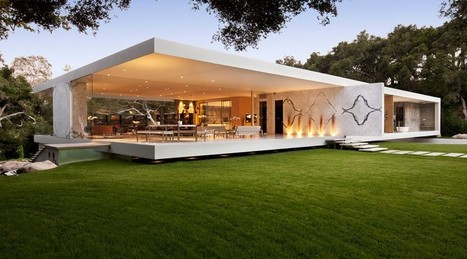 Époustouflante Maison Contemporaine   The Glass Pavilion Par Steve Hermann    Santa Barbara   USA