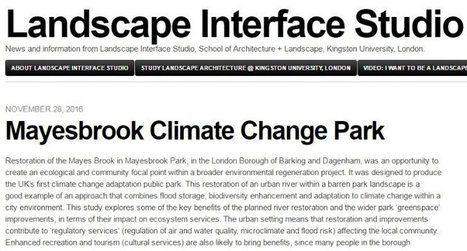 Mayesbrook Climate Change Park | Engineering | Scoop.it