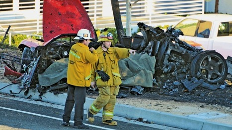 Paul Walker's Death: 'Something Was Wrong' With Car Before Crash, Witness Tells THR (Exclusive) | California Car Accident and Injury Attorney News | Scoop.it