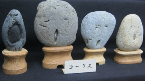 "Wonderfully Odd Japanese Museum Has ""Face Rocks"" 