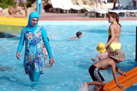 A Cannes, la mairie interdit l'accès aux plages aux femmes portant un burkini | Actualités & Infos (Médias) | Scoop.it