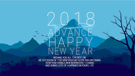 latest collection of advance happy new year 2018 wallpaper download