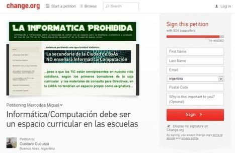 [PQS] Para que sepan: Alfabetización digital real = #InformáticaComoMateria   (PQS) Para que sepan   Scoop.it