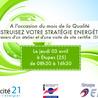Efficacite energetique - Responsabilite Societale