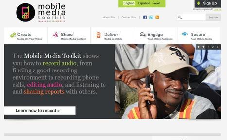 Mobile Media Toolkit | digital journalism tools and topics | Scoop.it