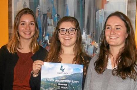 Pauline, Chloé et Manon à fond sur l'Europ'raid | On parle des IUT | Scoop.it