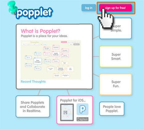 ¿Como hago un mapa mental 2.0? Aprendemos a usar Popplet - Portal Aprender | Recursos TIC | Scoop.it