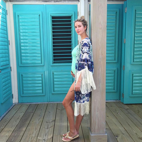 Pregnant Ivanka Trump Cradles Her Growing Baby Bump in Swimsuit During Tropical Babymoon in Belize | Travel - Things to do in Belize | Scoop.it