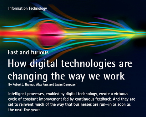 How Digital Technologies Are Changing the Way We Work | Business Futures | Scoop.it