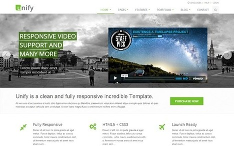 Inspiring Email Newsletter Templates Scoopit - Bootstrap newsletter template