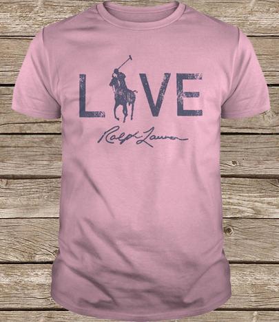 Ralph lauren breast cancer shirt