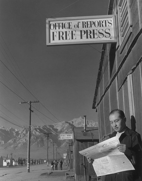 Ansel Adams' Pictures of an American Concentration Camp During WWII | Photography Online | Scoop.it