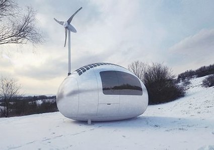 Get Off the Grid With This Eco-Powered Micro-Home | PROYECTO ESPACIOS | Scoop.it