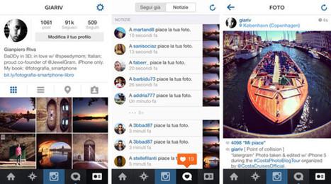 Instagram iOS 7: Pro e contro nel restyling della nuova app | Social Media War | Scoop.it