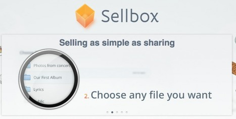 Sell Digital Products Straight From Your Folders: Sellbox Turns Dropbox Into an Ecommerce Platform | AllAboutSocialMedia | Scoop.it