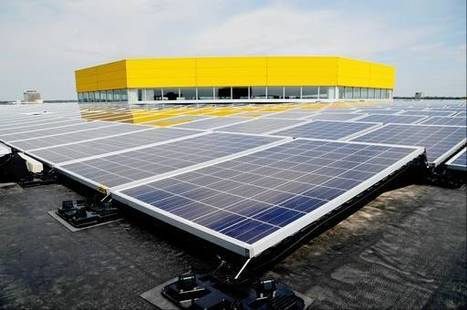 Ikea installs solar panels to generate own power | Commercial Real Estate News | Scoop.it