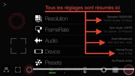 Les réglages conseillés dans vos apps | Formation multimedia | Scoop.it