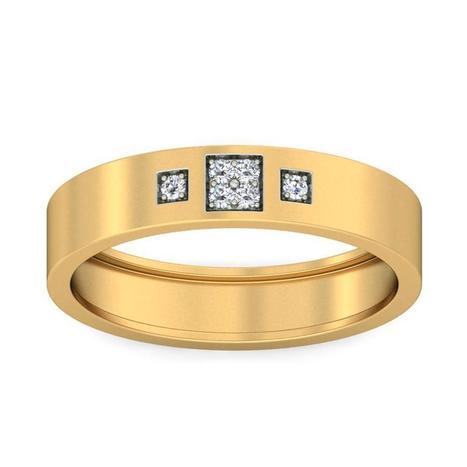 Get Simple Band Design Ring Online Dubai14 K Y