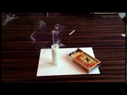 These 3D Paper Illusions Will Do Your Head In   The brain and illusions   Scoop.it