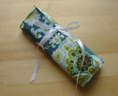 Today We Made Crochet Hook Roll
