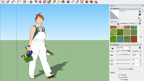 SketchUp 2016: Entwerfen in 3D – auch ohne CAD-Kenntnisse   3D Content & E-Learning   Scoop.it