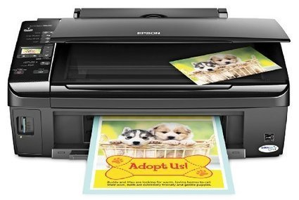 Epson Stylus NX215 Color Inkjet All In One Printer C11CA47231