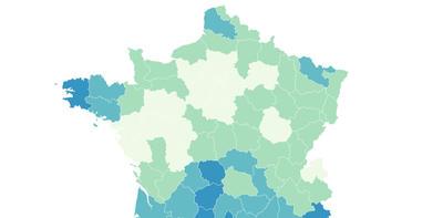 En carte : les inégalités de soin en France
