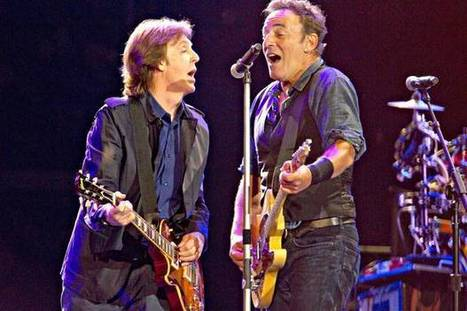 Bruce Springsteen : I thought they'd never pull plug on Macca the knight in Hyde Park - Evening Standard | Bruce Springsteen | Scoop.it