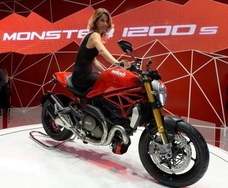 """Ducati Monster 1200 awarded """"Most Beautiful Bike of Show"""" by EICMA 2013 visitors 