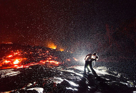Stunning Photo of a Kiss Over Lava in the Rain | Digital-News on Scoop.it today | Scoop.it