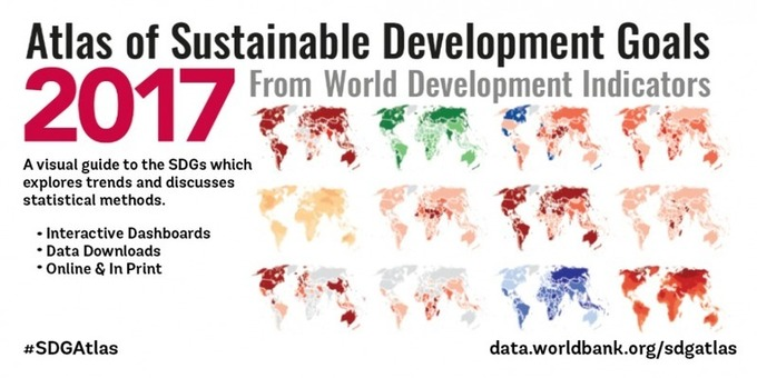 The 2017 Atlas of Sustainable Development Goals: a new visual guide to data and development